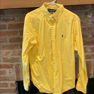 Yellow XL Polo Ralph Lauren button up